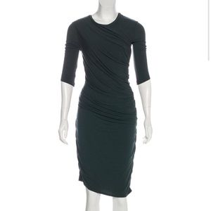 Helmut Lang Dresses - Helmut Lang ruched stretch dress